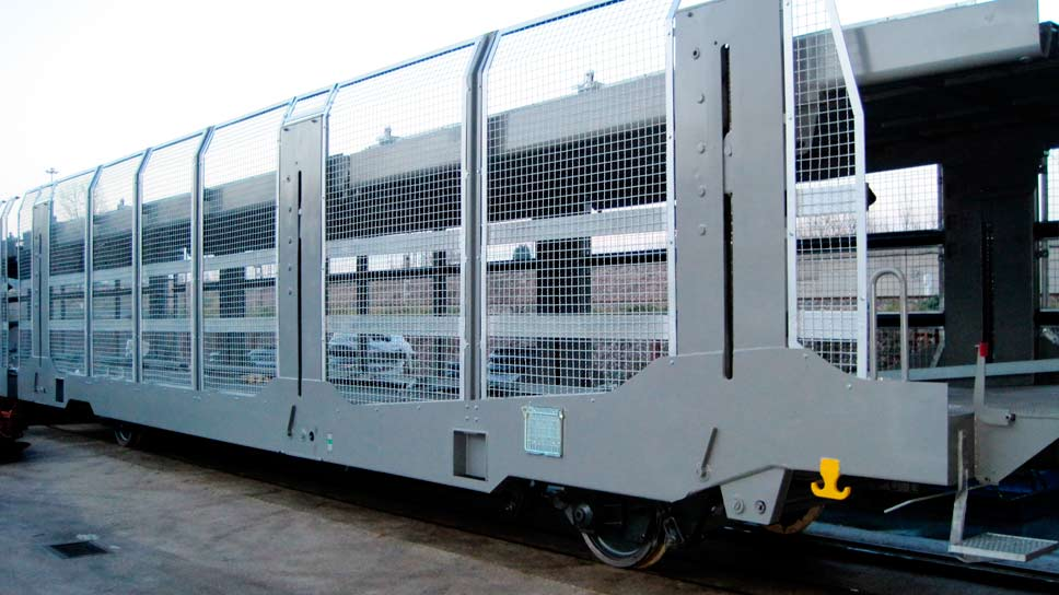 Auto cargo freight wagon talleres alegría