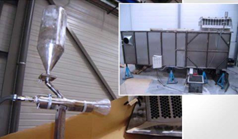 Efficacité d'un filtre à air et caractérisation thermique d'une locomotive