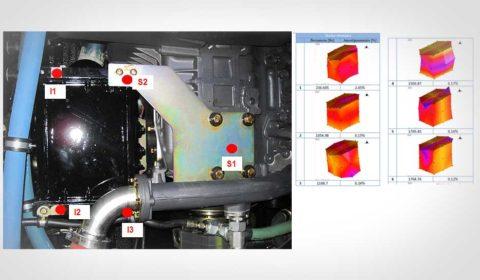 Analyse modale d'un échangeur thermique