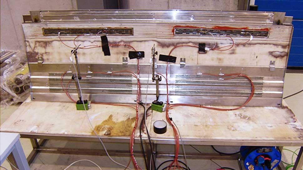Case Study: Floor heater characterization