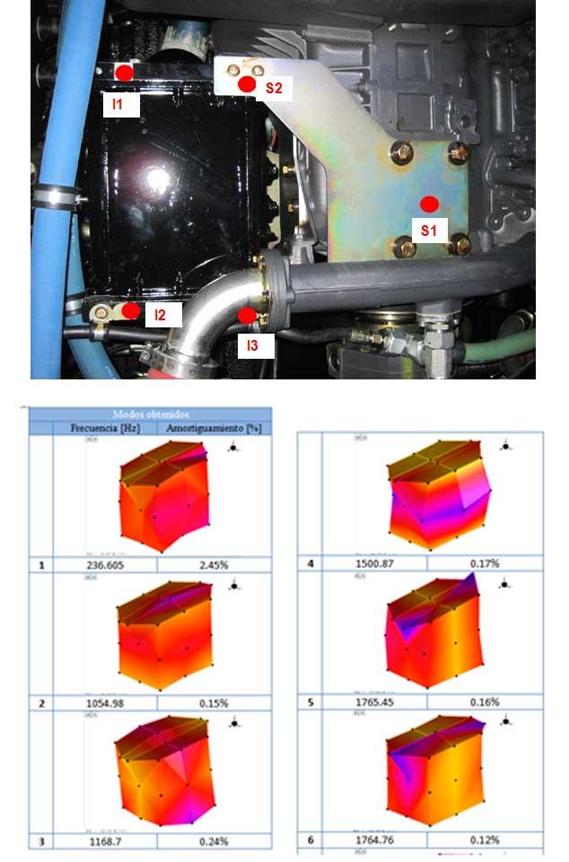 Case Study: Intercooler modal analysis