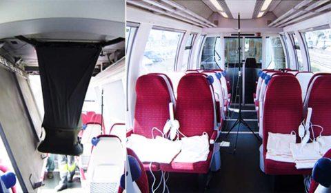 Irregular temperature in passenger compartment