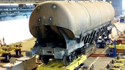 Cement Wagon – TITAGARH AFR