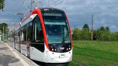 Freiburg Tram – CAF
