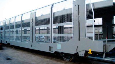 Vagón portacoches – T. ALEGRIA