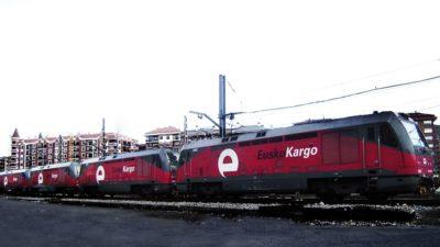 Locomotora EuskoKargo