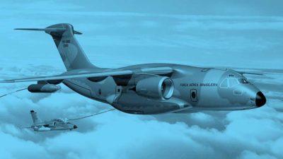 KC390 – Ensayo de impacto