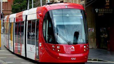 Tranvía Sydney – CAF